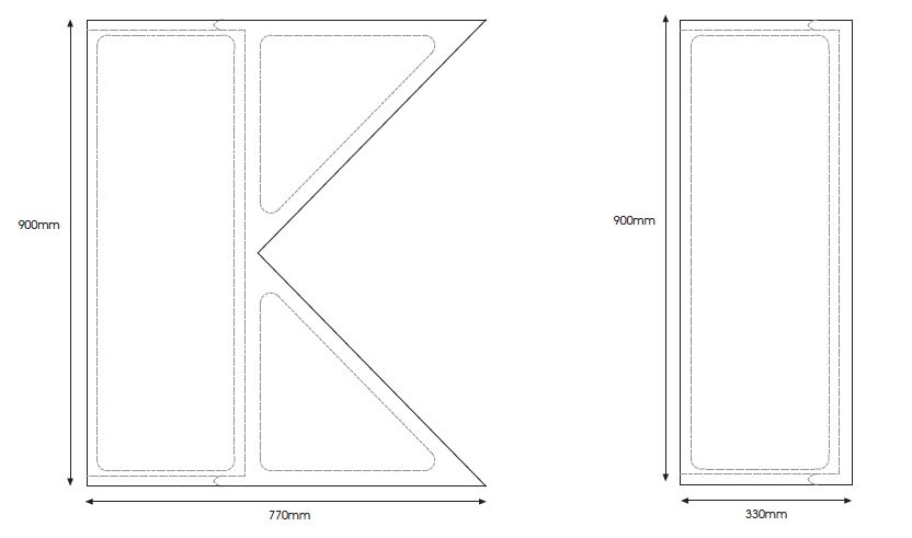 Stepin Ramp Dimensions
