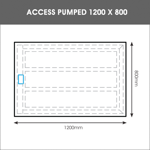ACCESS PUMPED TRAY