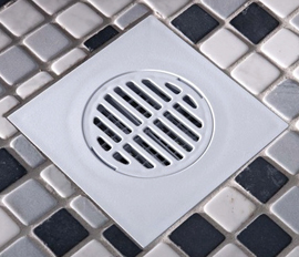 Tiled floor adapter